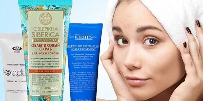 12 скрабів для шкіри голови - рейтинг очищувальних і лікувальних