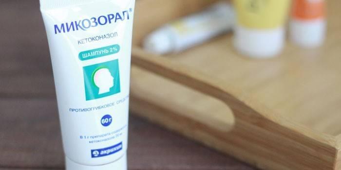 Микозорал шампунь від лупи і грибкових захворювань - як правильно використовувати та протипоказання