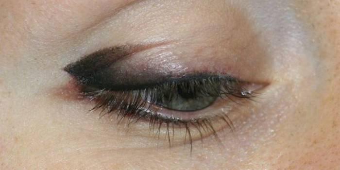 Татуаж очей з розтушовуванням - протипоказання і побічні ефекти