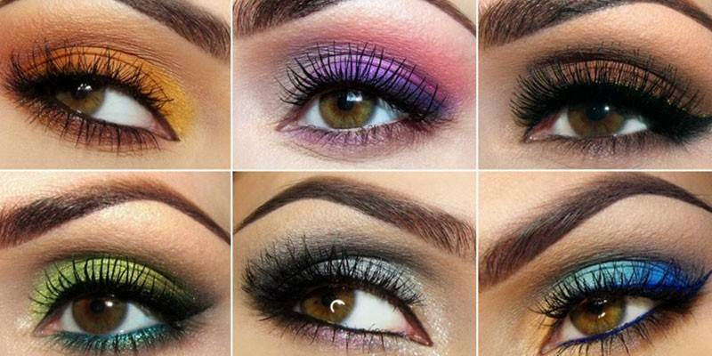 Денний макіяж для карих очей покроково