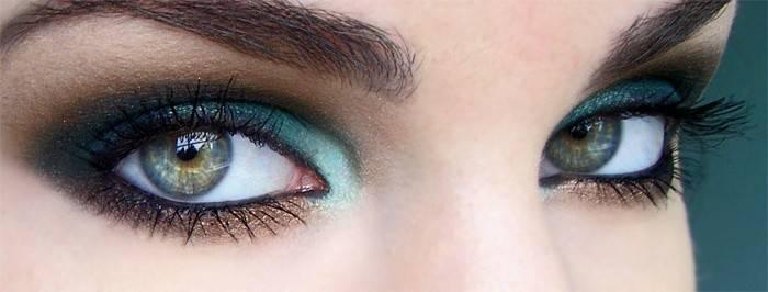 Смокі айс для зелених очей - покрокове фото і відео