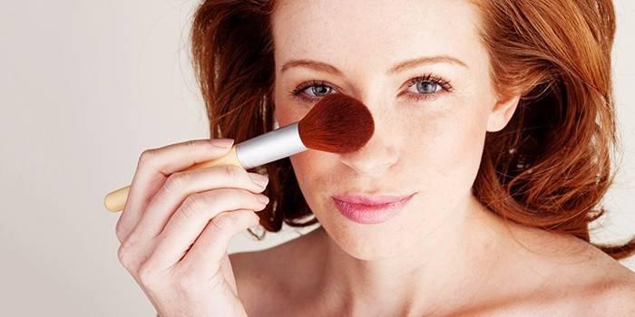 Як зменшити ніс макіяжем - правильно, якими засобами, фото і відео