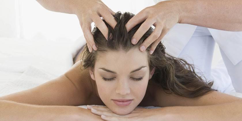 Масаж голови для росту волосся від випадання, відгуки