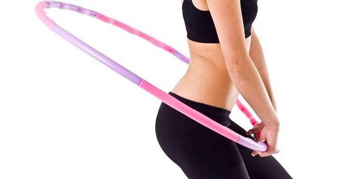Скільки потрібно крутити обруч, щоб схуднути - правила обертання хулахуп