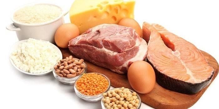 Що можна їсти на білковій дієті, меню і список продуктів для схуднення