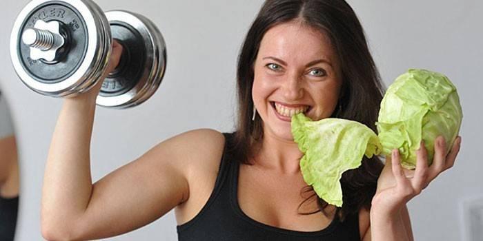 Харчування для схуднення при тренуваннях для дівчат - дієта при заняттях спортом