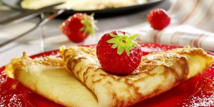 Можна їсти млинці на дієті - як приготувати низькокалорійні, вівсяні і відрубні за рецептами з фото