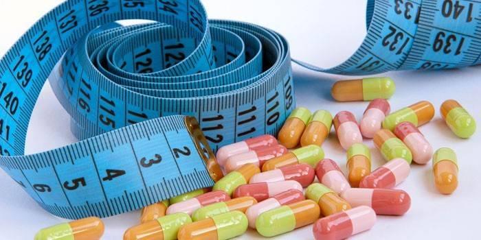Дешеві таблетки для схуднення - Бади та медичні засоби в аптеках з цінами
