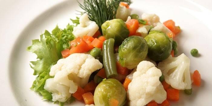Які овочі можна їсти при схудненні - список низькокалорійних, рецепти і меню дієти на тиждень