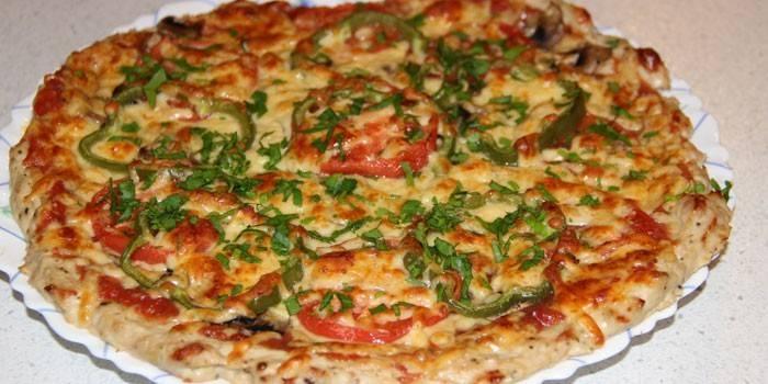 Дієтична піца для схуднення - як приготувати тісто і корисну начинку за рецептами з фото