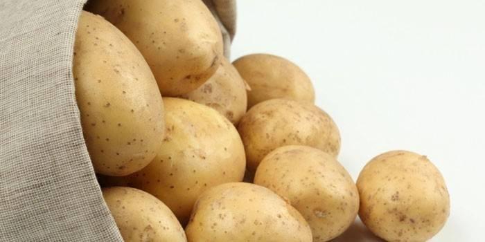 Картопляна дієта на тиждень з рецептами страв