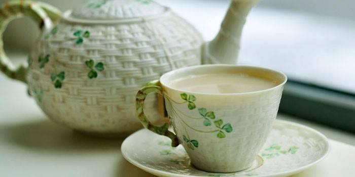 Зелений чай з молоком для схуднення: користь і відгуки