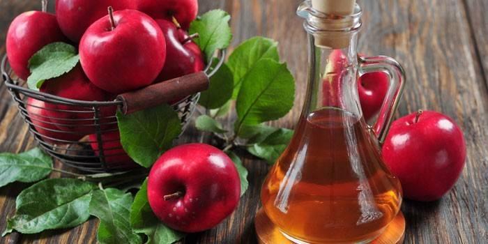 Оцет для схуднення - як правильно приймати яблучний або винний і робити обгортання