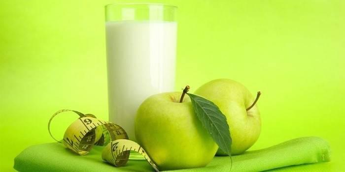 Дієта на яблуках і кефірі - меню на 7 та 9 днів, відео та відгуки схудлих
